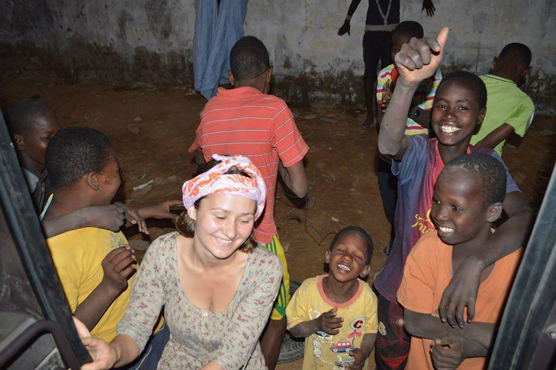 Mauritanijos gatvių jaunimas